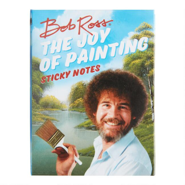 Bob Ross Joy of Painting Sticky Notes