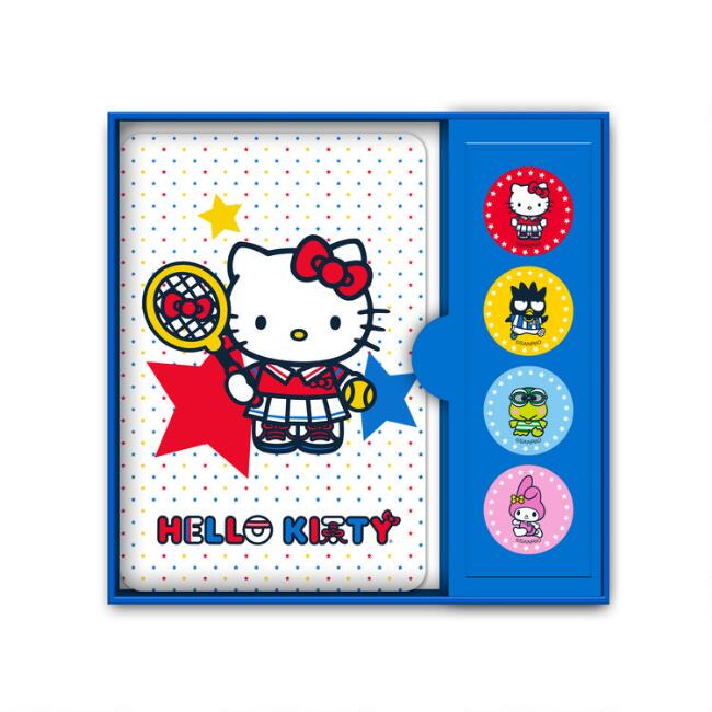 Hello Kitty Sports Boxed Notecards 12 Count