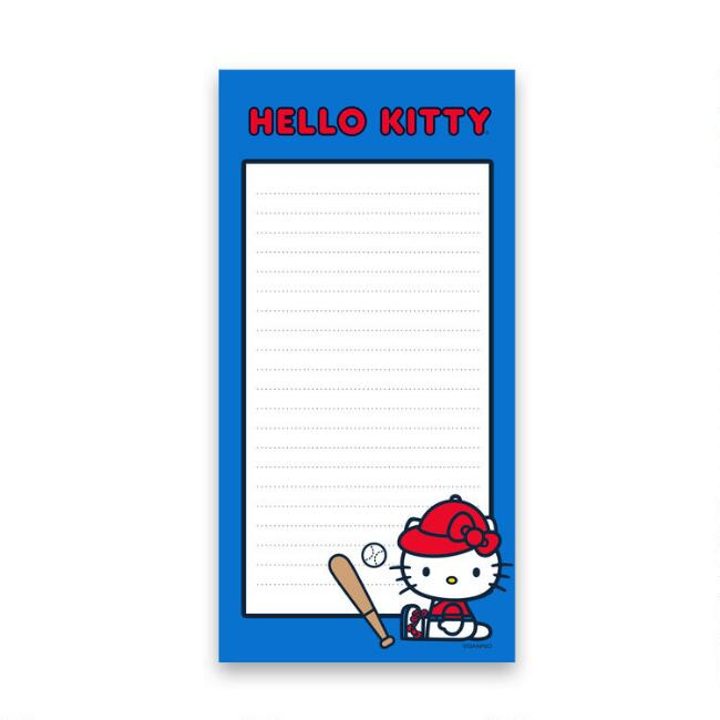 Hello Kitty Sports List Notepad