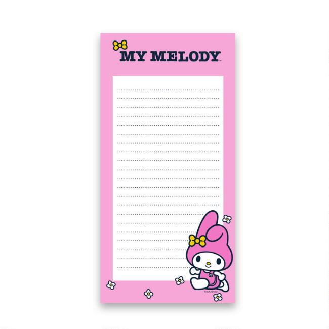 My Melody Sports List Notepad