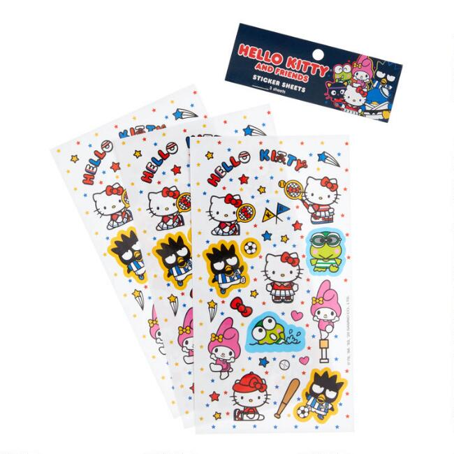 Hello Kitty and Friends Sports Stickers