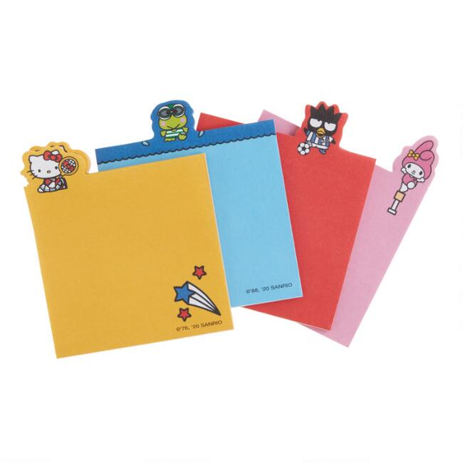 Hello Kitty and Friends Sports Die Cut Notepads 4 Pack