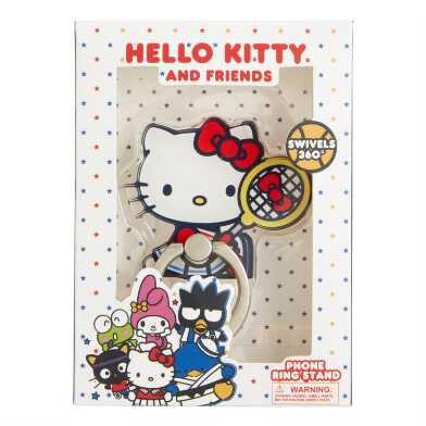 Hello Kitty Sports Phone Ring Stand