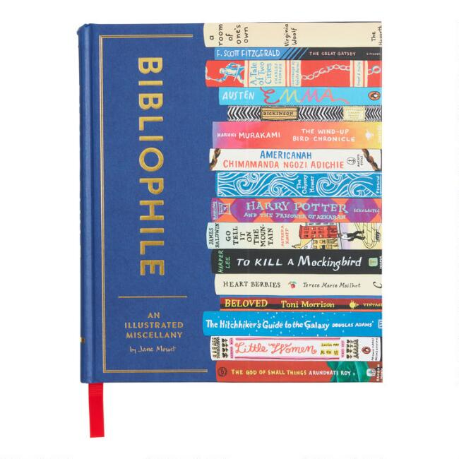 Bibliophile An Illustrated Miscellany Book