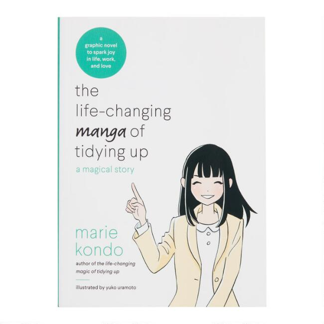 The Life-Changing Manga of Tidying Up Graphic Novel