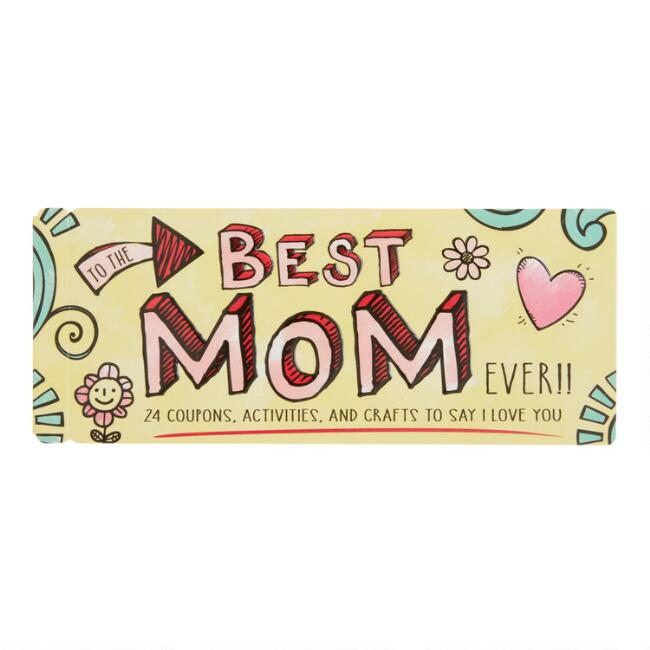 Best Mom Ever Coupon Book