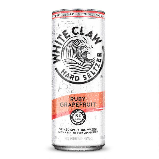 White Claw Grapefruit Hard Seltzer Can