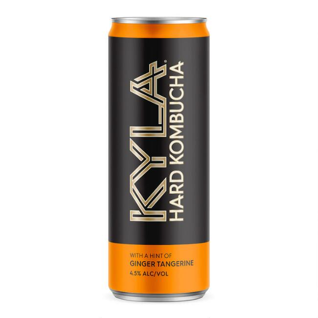 Kyla Hard Kombucha with Ginger Tangerine Can