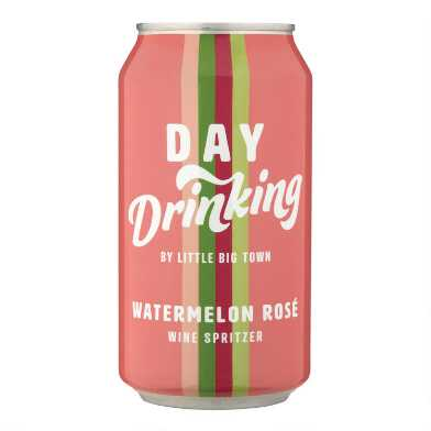 Day Drinking Watermelon Rose Wine Spritzer Can