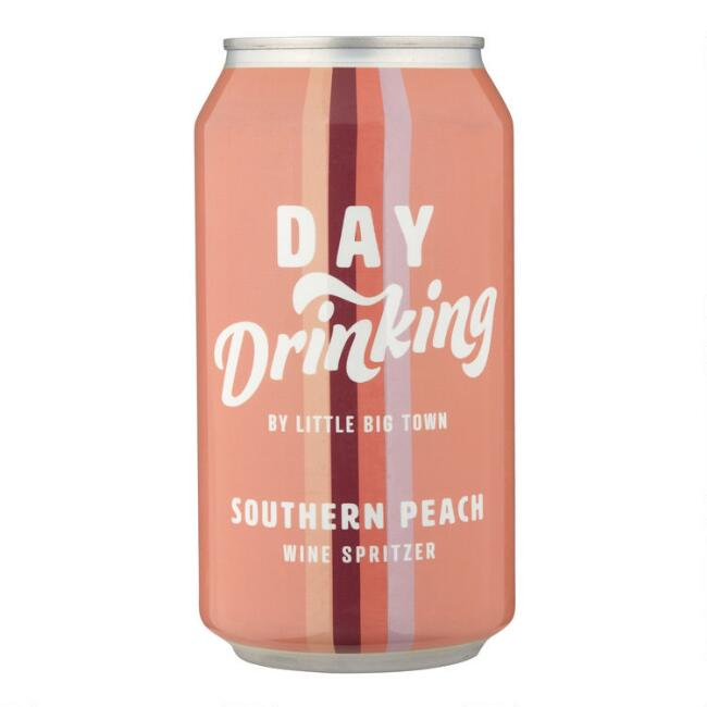Day Drinking Southern Peach Wine Spritzer Can
