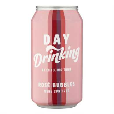 Day Drinking Rose Bubbles Wine Spritzer Can