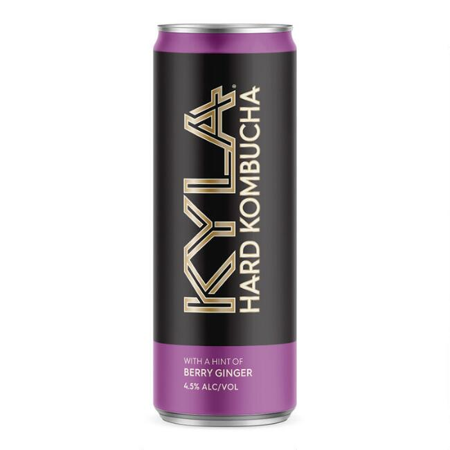 Kyla Hard Kombucha with Berry Ginger Can