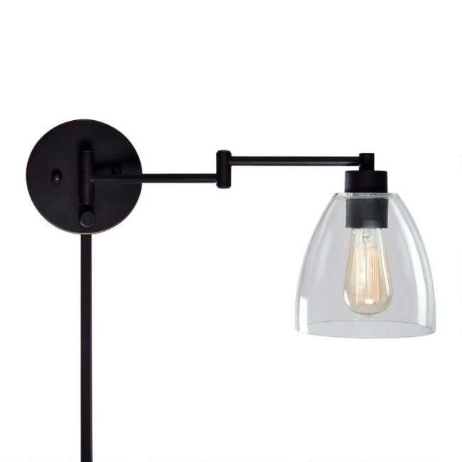 Metal Swing Arm Carter Wall Sconce