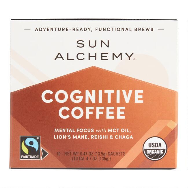 Sun Alchemy Cognitive Coffee Sachets 10 Count