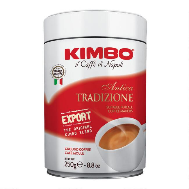 Kimbo Antica Tradizione Ground Coffee Tin