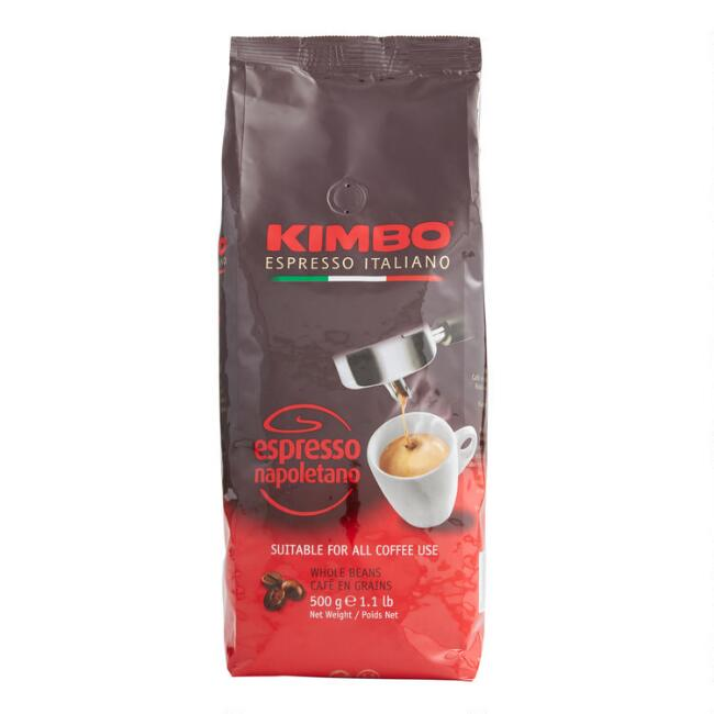 Kimbo Espresso Napoletano Whole Bean Coffee 1lb