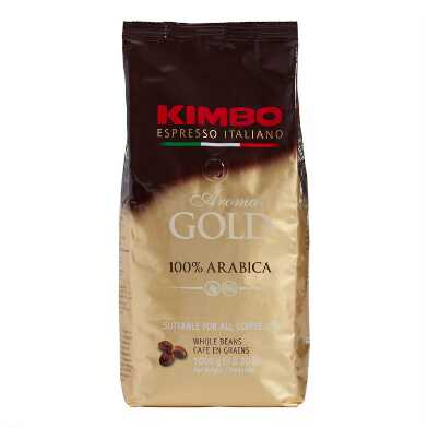 Kimbo Aroma Gold Blend Whole Bean Coffee 2lb