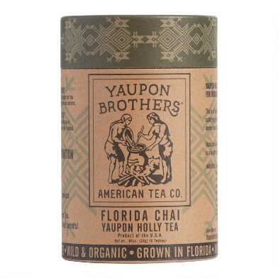 Yaupon Brothers Florida Chai Yaupon Tea 16 Count