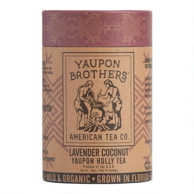 Yaupon Brothers Lavender Coconut Yaupon Tea 16 Count