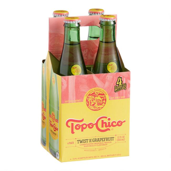 Topo Chico Twist of Grapefruit 4 Pack