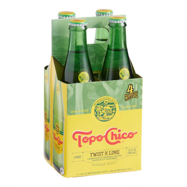 Topo Chico Twist of Lime 4 Pack
