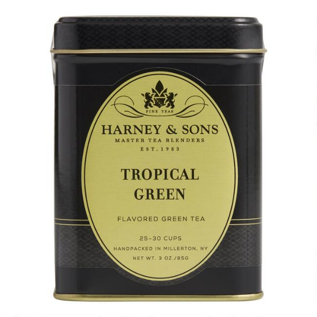 Harney & Sons Tropical Green Loose Leaf Green Tea Tin