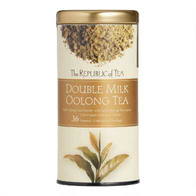 The Republic Of Tea Double Milk Oolong Tea 36 Count