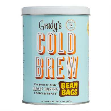 Grady's Decaf Cold Brew Bean Bag Can 4 Count