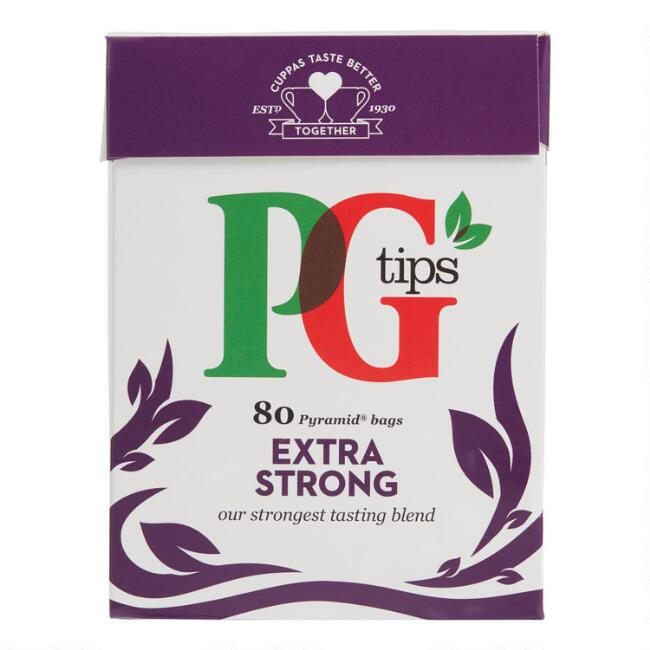 PG Tips Extra Strong Black Tea 80 Count
