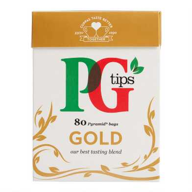 PG Tips Gold Black Tea 80 Count