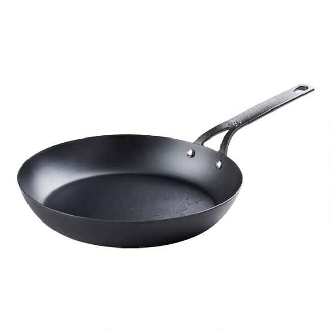 12 Inch BK Black Carbon Steel Skillet