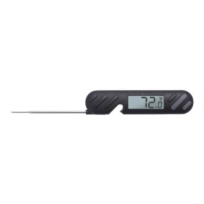 Taylor Black Digital Grilling Thermometer and Bottle Opener