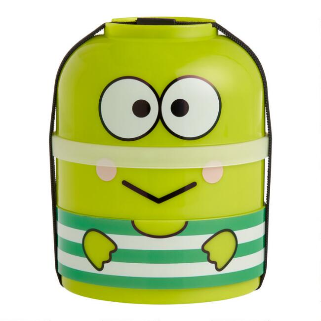 Keroppi Sports 3 Layer Bento Lunch Box