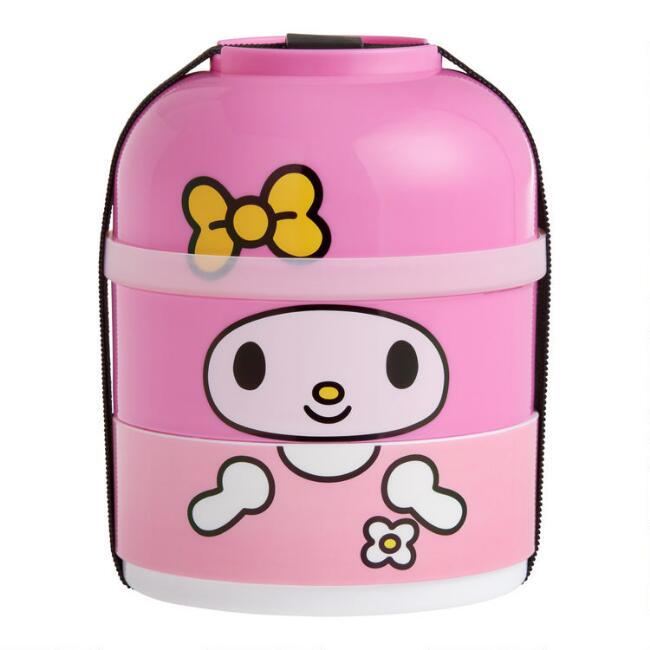 My Melody Sports 3 Layer Bento Lunch Box
