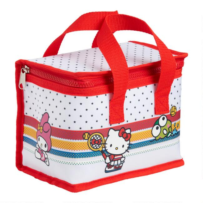 Hello Kitty and Friends Sports Insulated Lunch Tote Bag