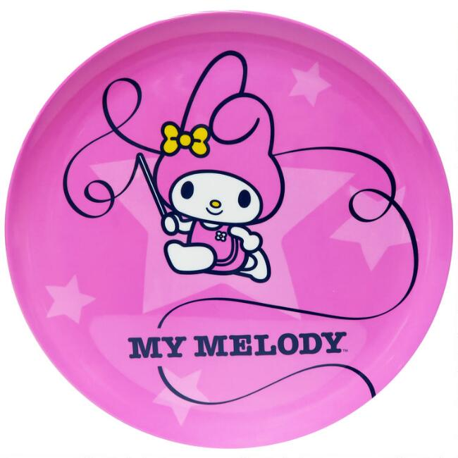 Hello Kitty Friends Sports Melamine Plates Set of 3