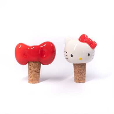 Hello Kitty Wine Stopper Set of 2