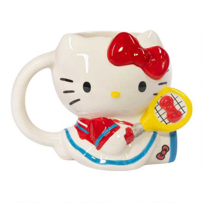 Hello Kitty Sports Figure Mug