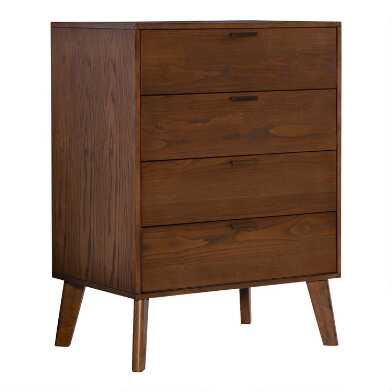 Walnut Mid Century Jackson Chest of Drawers