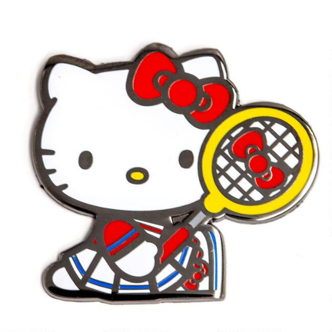 Hello Kitty Sports Enamel Pins 2 Pack