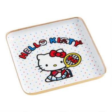 Small Hello Kitty Sports Trinket Dish