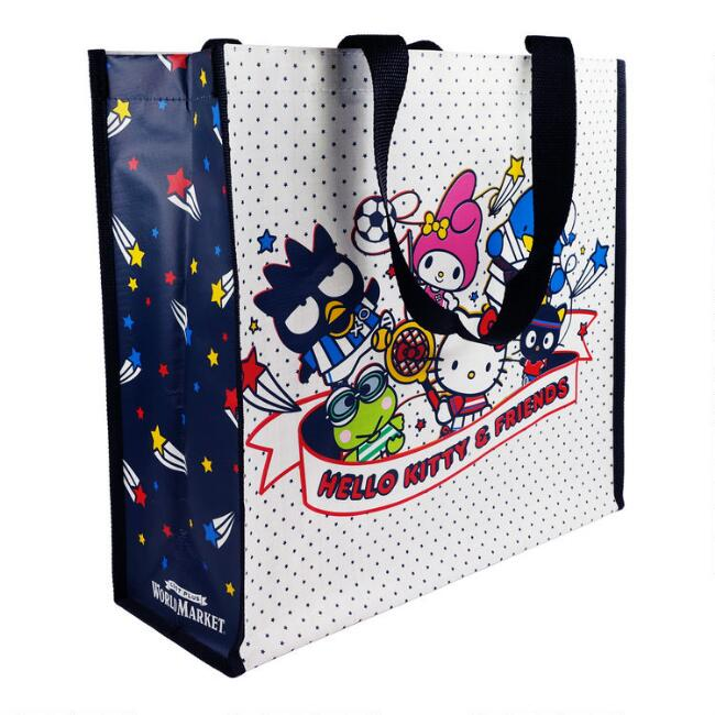 Large Hello Kitty And Friends Sports Tote Bag