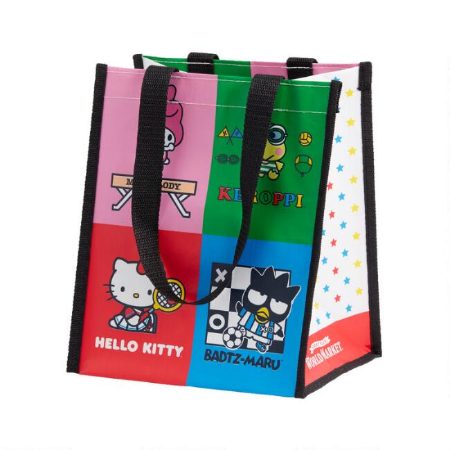 Small Hello Kitty And Friends Sports Tote Bags Set Of 2