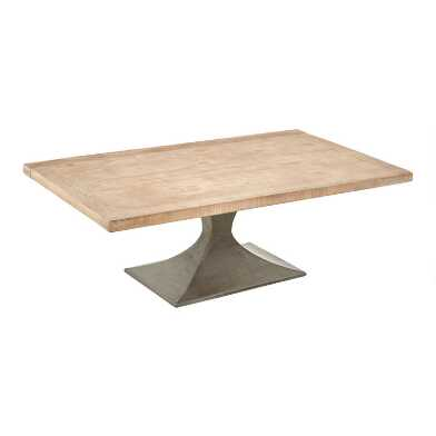 Reclaimed Pine and Metal Samuel Coffee Table