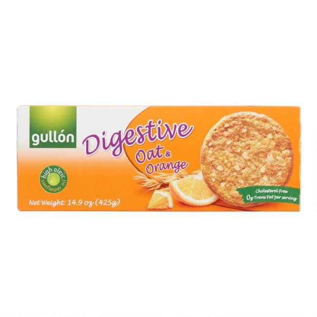 Gullon Oat and Orange Digestive Biscuits