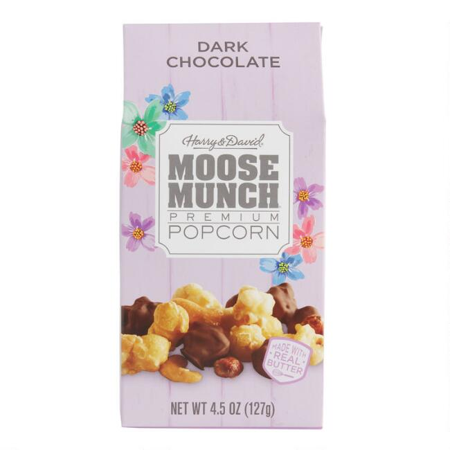 Harry & David Dark Chocolate Moose Munch Popcorn Spring Box