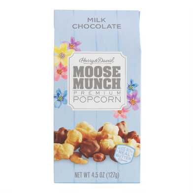 Harry & David Milk Chocolate Moose Munch Popcorn Spring Box