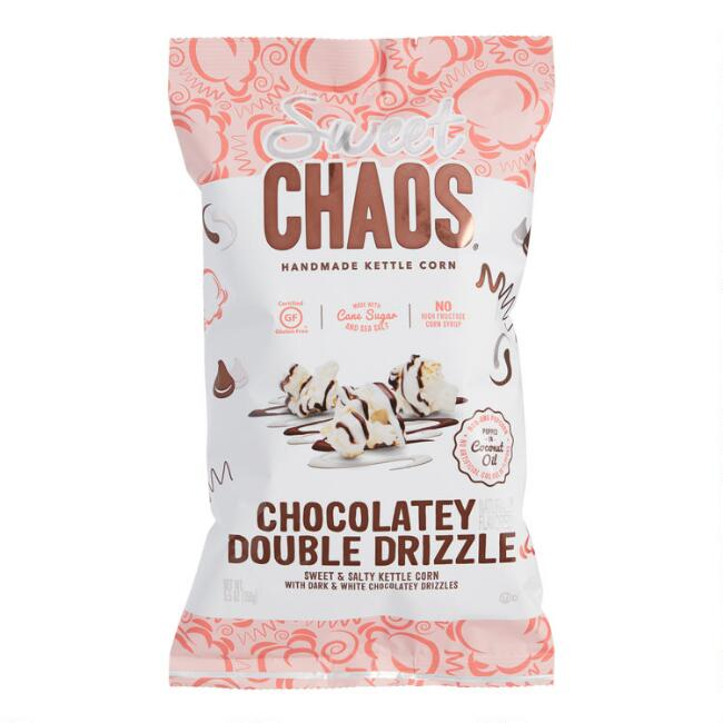 Cold Stone Sweet Chaos Chocolatey Double Drizzle Kettle Corn