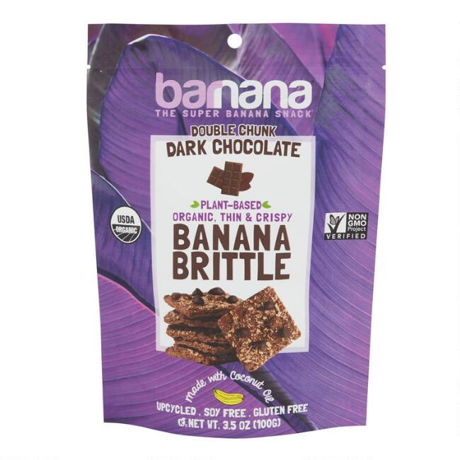 Barnana Organic Dark Chocolate Banana Brittle