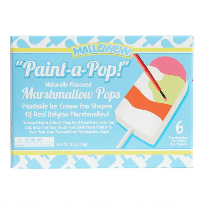 Melville Paint-a-Pop Marshmallow Pops 6 Pack